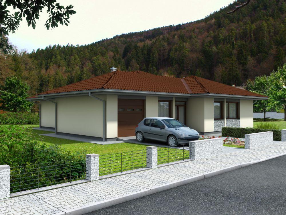 Projekty Domov Bungalov 25 Projekty Rodinných Domov Zobrazovacia